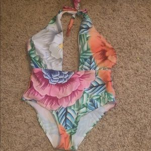 Other - Colorful once piece bathing suit